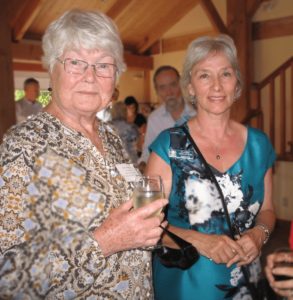 Claire Finlayson and Betty Keller at the 2017 Festival of the Written Arts Photo